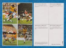 Argentina Brazil England Italy West Germany 6 UNCUT Zico